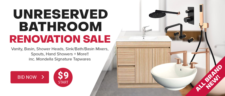 Unreserved Bathroom Reno Sale