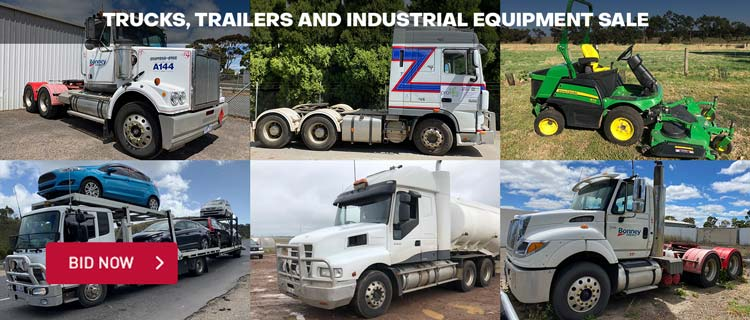 Trucks, Trailers and Industrial Equipment Sale