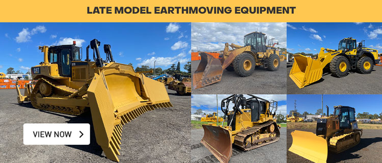 Late Model Earthmoving Equipment