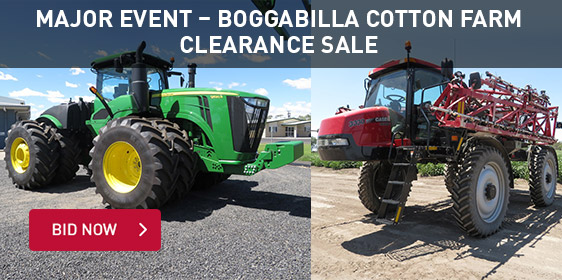 Major Event - Boggabilla Cotton Farm Clearance Sale