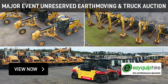 Major Event Unreserved Earthmoving & Truck Auction