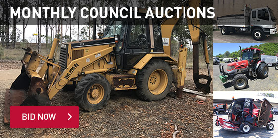 Monthly Council Auctions