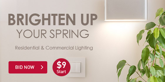 Brighten Up Your Spring | Residential & Commerical Lighting