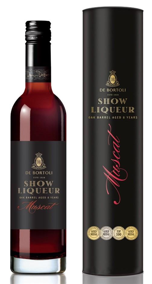 De Bortoli `Show Liqueur` Muscat NV (6 x 500mL Giftboxed), NSW.