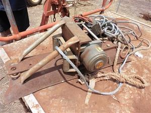 Electric winch, Sherpa 12Volt, 17,000Lbs capacity (Location:Humpty Doo, NT)