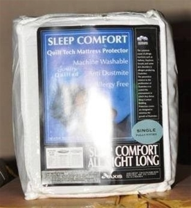 10 Per Box Sleep Comfort Mattress Prote