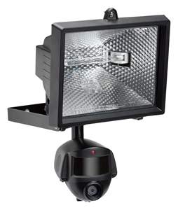 Outdoor Motion Sensor Home Security Video Camera Light