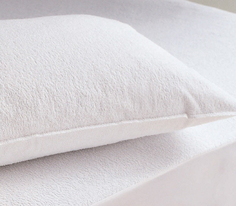Waterproof Pillow Protector - 100% Bamboo - Pair