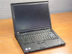 Lenovo T61 15 4`` Widescreen Laptop  BIOS PASSWORD PROTECTED, HDD REMOVED