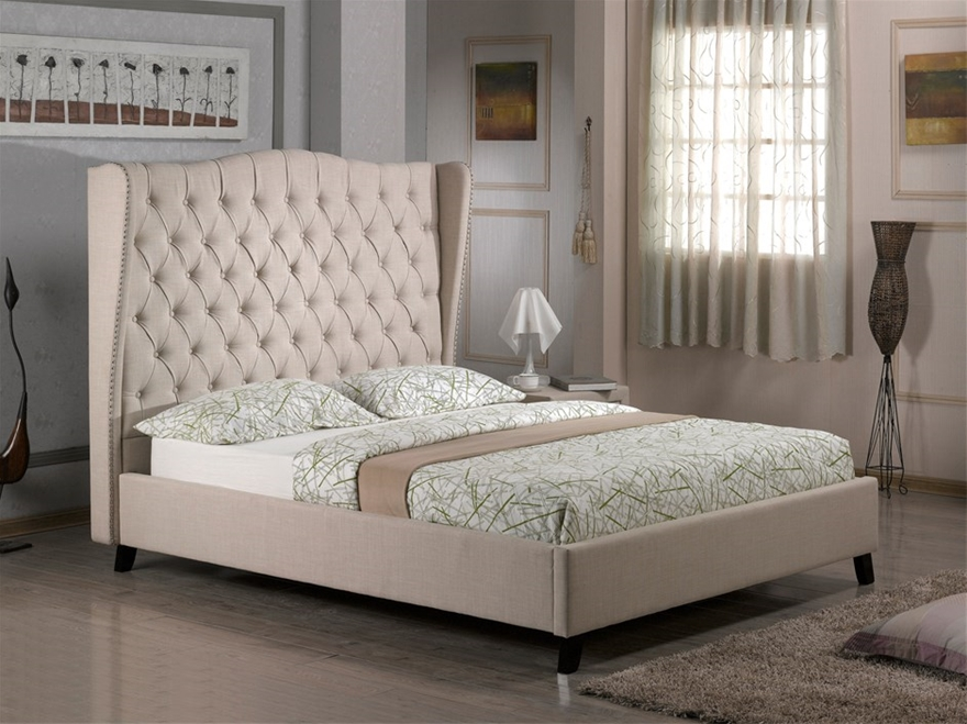 French Provincial Wing Queen Size, French Provincial Queen Size Bed