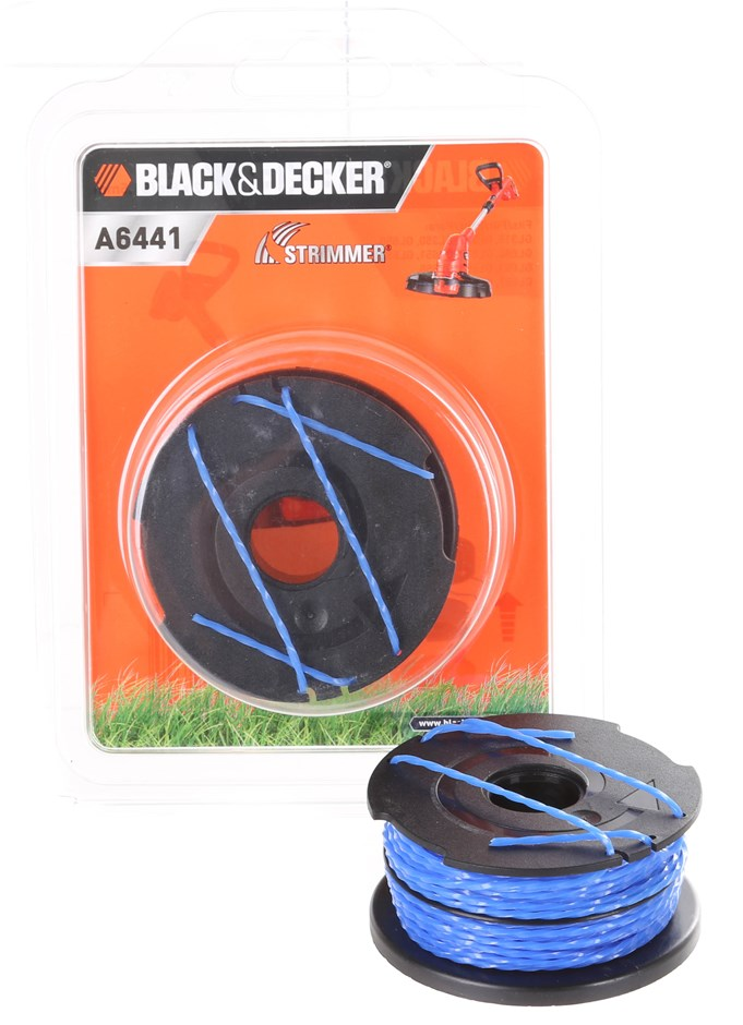 5 x BLACK&DECKER Strimmer 2 x 6M/01-5mm Buyers Note - Discount Freight Rate