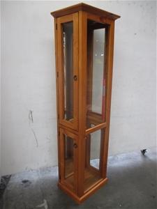 Chan 2 Door Display Unit Auction 0024 7010530 Graysonline Australia