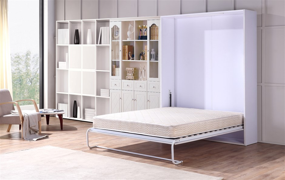 Palermo Queen Size Wall Bed