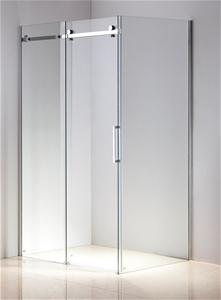Shower Screen 1200x900x1950mm Frameless