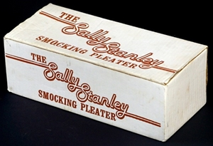 FANTASTIC 'SALLY STANLEY' SMOCKING PLEATER