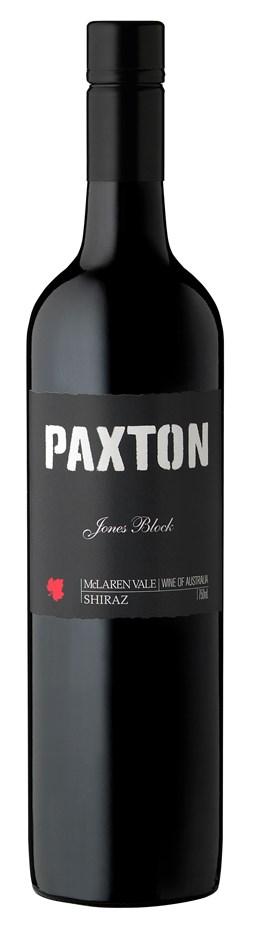 Paxton `Jones Block` Shiraz 2012 (6 x 750mL), McLaren Vale, SA.