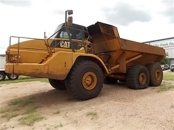 cat 740 articulated dump truck manual