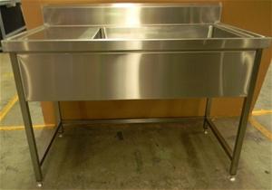Free Standing Stainless Steel Large Kitc