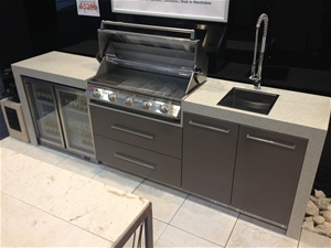 unreserved roma outdoor kitchen d i y ready to assemble auction