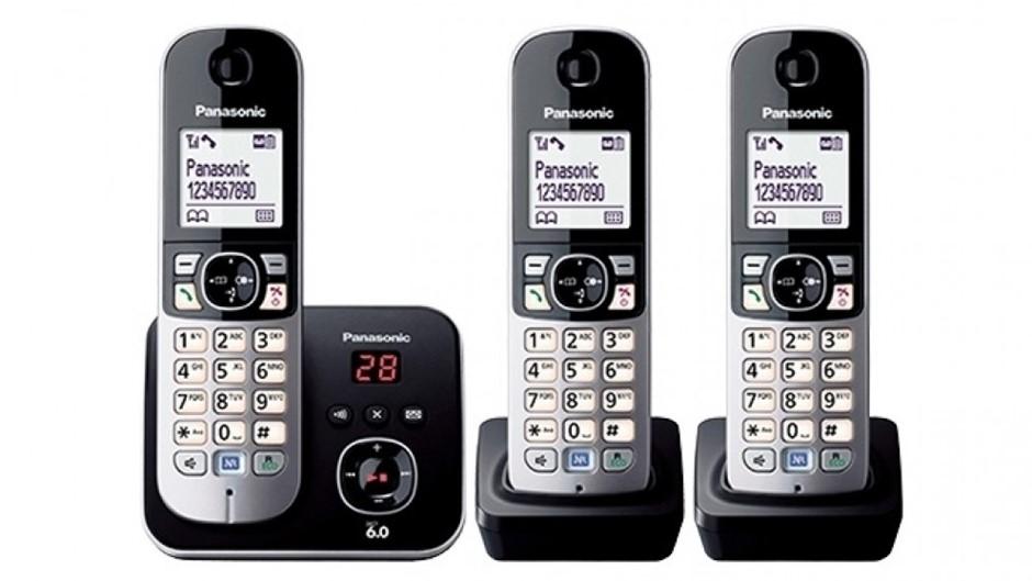 Panasonic Cordless Phones KX-TG6823ALB
