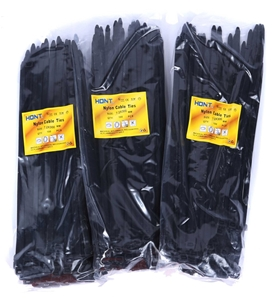 3 Packs Of Cable Ties Each 100pcs, Size: