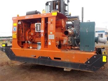 60 KVA Ingersoll Rand G66 Silenced Generator, Circa 2010