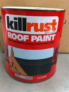 Wattyl Paint Kill Rust 4l Silver Auction 0020 3001407