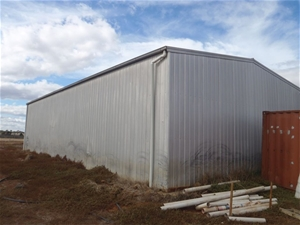 Open Front Farm Shed Auction 0015 5017477 Graysonline