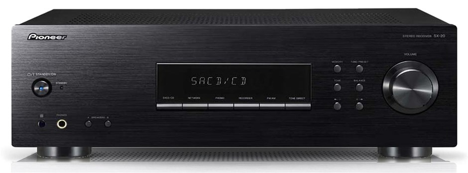 Pioneer SX20K Stereo Integrated Receiver (Black)
