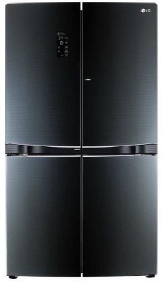 LG 725L Dual Door-In-Door French Door Fridge (GF-6D725BGL)