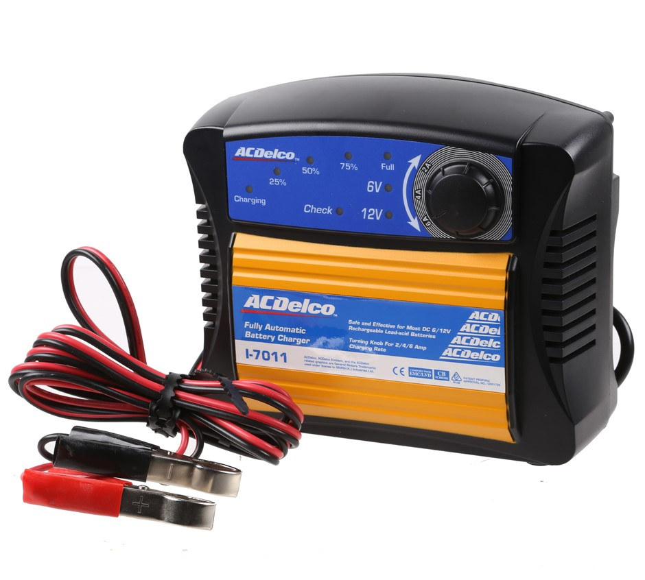 ACDELCO Fully Automatic Battery Charger Suits DC6/12V Batteries. Buyers Not