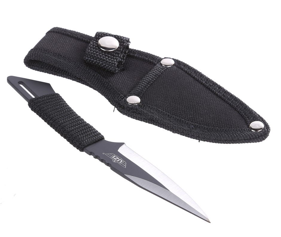 UZI Throwing Knife 15cm with Sheath. Buyers Note - Discount Freight Rates A