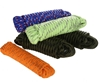 5 Hanks x Braided Multi-Purpose Rope 8mm x 10M, Mixed Colours. Buyers Note