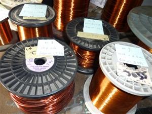 Copper wire for coil/motor/transformer rewind, rolls 1-9