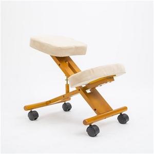 Ergonomic Kneeling Chair - WHITE