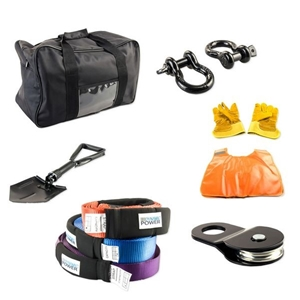 Winch Recovery Kit 10PCS