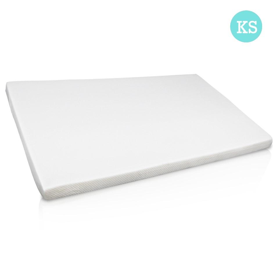 Visco Elastic Memory Foam Mattress Topper 7cm Thick King Single