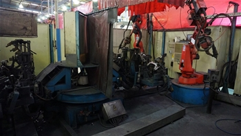ORION IRS WELDING CELL B1