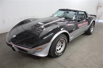 1978 Chevrolet Corvette Indianapolis 500 Replica RWD Automatic Coupe