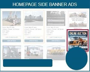 Website Homepage Side Banner