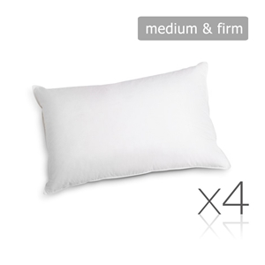 Giselle Bedding Set of 4 Medium & Firm C