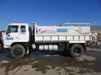 1990 Hino FG 4x2 Tipper Truck (Tanker)