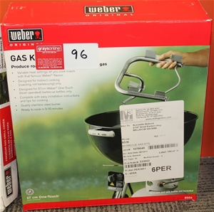 Weber Gas Conversion Kit For Kettle Bbq Rrp 120 Auction
