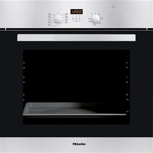 Miele Stainless Steel 60cm Electric Fan Forced Oven