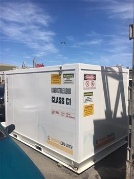 Global Engineering Solutions 10,000L Fuel Tank, 2014