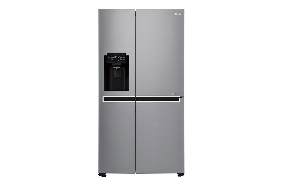 LG 668L Side by Side with Plumbed Ice & Water Dispenser (GS-L668PL)