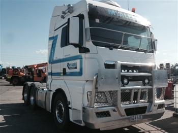 2012 MAN TGX 26-540 6x4 Prime Mover