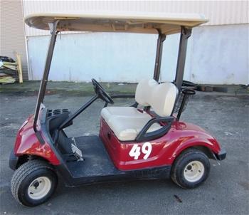 2007 yamaha golf cart auction 0005 3001603 graysonline for Yamaha golf cart id
