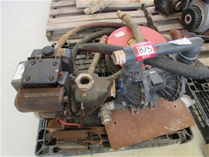 Graco husky 2150 double diaphragm pump with yanmar diesel engine graco husky 2150 double diaphragm pump w ccuart Gallery