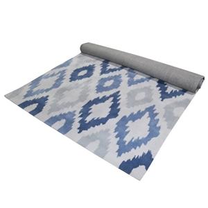 Unitex floor rug blue grey 155x225cm 100 japanese for 100 floor 39